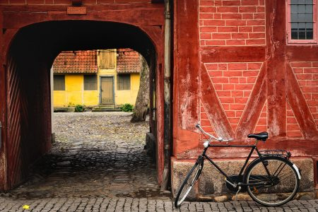 Bike and Tunnel Jigsaw Puzzle