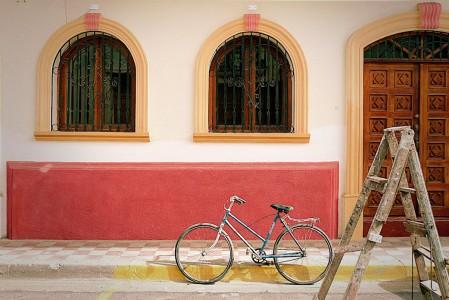 Bike in Granada Jigsaw Puzzle