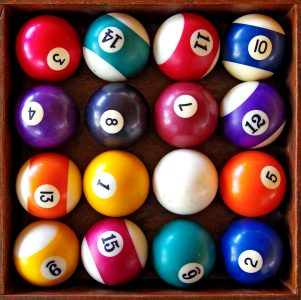 Billiard Balls Jigsaw Puzzle