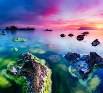 Black Sea Sunset Jigsaw Puzzle