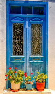 Blue Doors Jigsaw Puzzle
