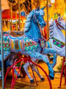 Blue Horse Jigsaw Puzzle