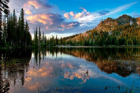 Blue Lake Jigsaw Puzzle