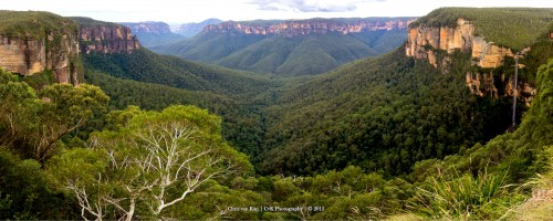 Blue Mountains Jigsaw Puzzle