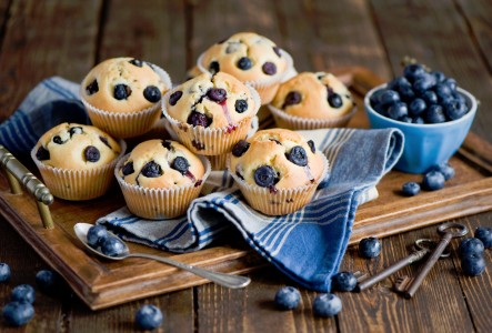 Blueberry Muffins Jigsaw Puzzle