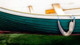 Boat and Oar