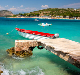 Boat and Pier Jigsaw Puzzle