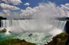 Boat in Niagara Falls