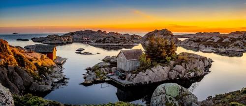 Boathouses Jigsaw Puzzle