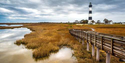 Bodie Lighthouse Jigsaw Puzzle