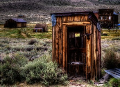 Bodie Outhouse Jigsaw Puzzle
