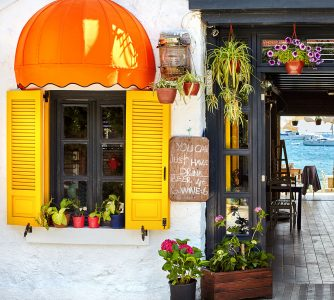 Bodrum Cafe Jigsaw Puzzle