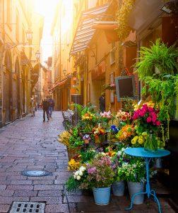 Bologna Flower Shop Jigsaw Puzzle
