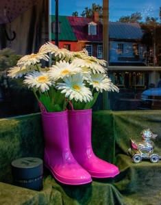 Boots and Flowers Jigsaw Puzzle