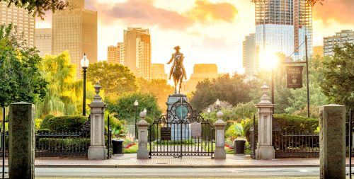 Boston Public Garden Jigsaw Puzzle