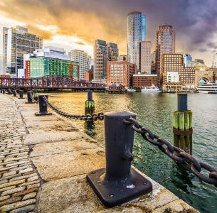 Boston Skyline Jigsaw Puzzle