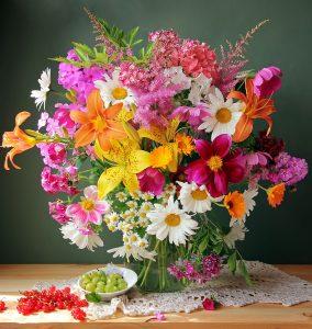 Bountiful Bouquet Jigsaw Puzzle