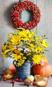 Bouquet and Wreath Jigsaw Puzzle