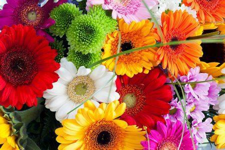 Bouquet Closeup Jigsaw Puzzle