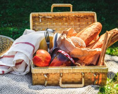 Bread and Jam Picnic Jigsaw Puzzle