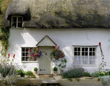 Bretforton Cottage Jigsaw Puzzle