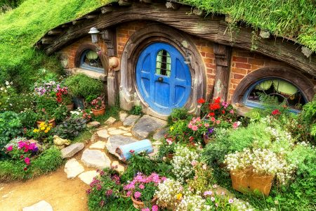 Brick Hobbit Home Jigsaw Puzzle