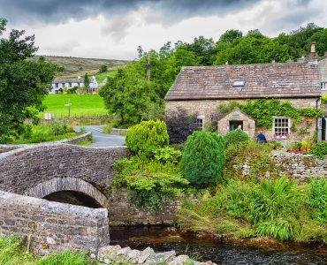 Bridge and House Jigsaw Puzzle