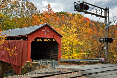 Bridge and Railroad Jigsaw Puzzle