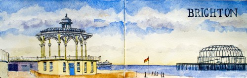 Brighton Bandstand Jigsaw Puzzle