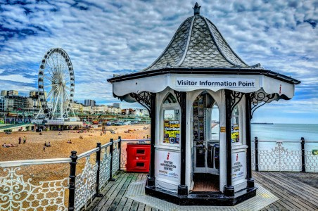 Brighton Beach Jigsaw Puzzle