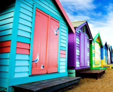 Brighton Beach Huts Jigsaw Puzzle