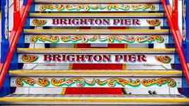 Brighton Pier Steps