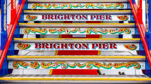 Brighton Pier Steps Jigsaw Puzzle
