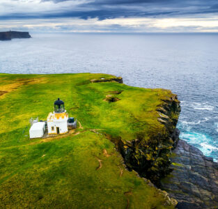 Brough of Birsay Lighthouse Jigsaw Puzzle