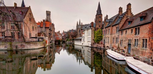 Bruges Canal Jigsaw Puzzle