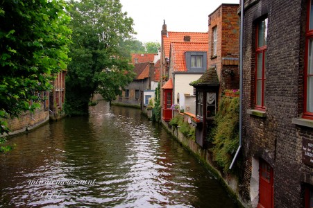 Brugge Canal Jigsaw Puzzle