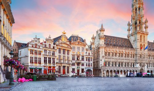 Brussels Grand Square Jigsaw Puzzle