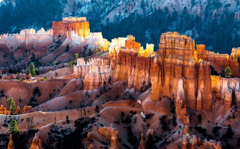 Bryce Canyon Dawn Jigsaw Puzzle