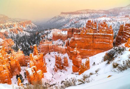 Bryce in Winter Jigsaw Puzzle