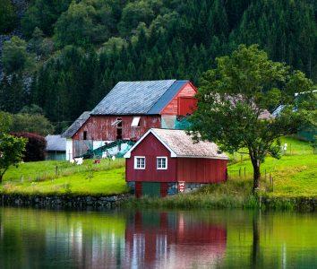 Bucolic Norway Jigsaw Puzzle