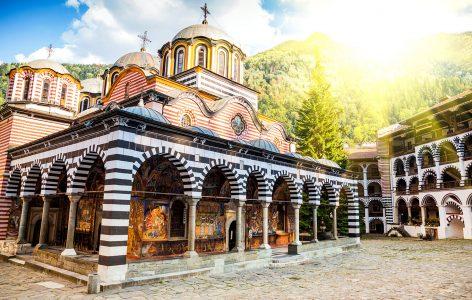Bulgaria Monastery Jigsaw Puzzle