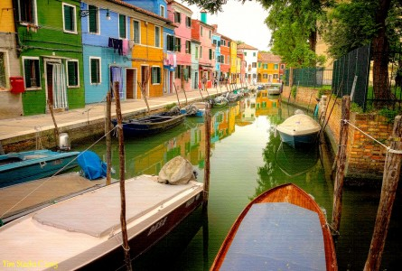 Burano Canal Jigsaw Puzzle