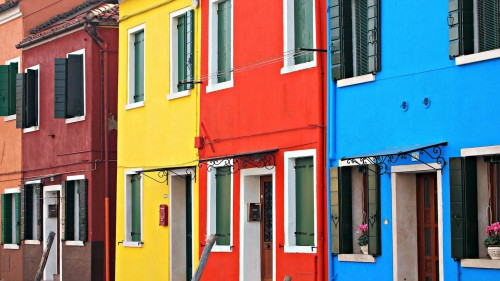 Burano Colors Jigsaw Puzzle