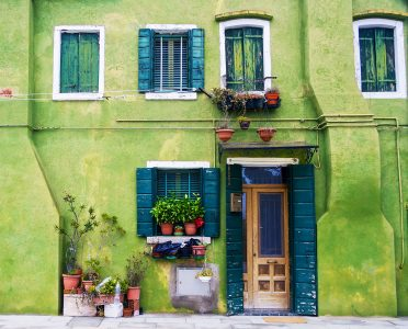 Burano Green Jigsaw Puzzle