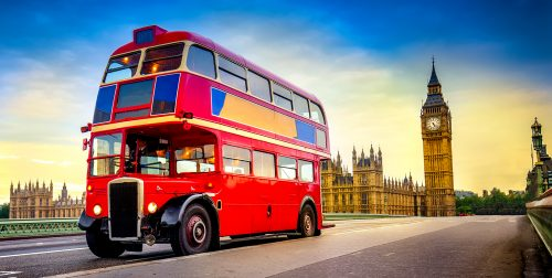 Bus and Big Ben Jigsaw Puzzle