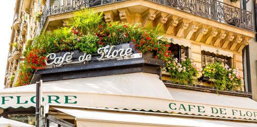 Cafe de Flore Jigsaw Puzzle