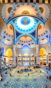Camlica Mosque Jigsaw Puzzle