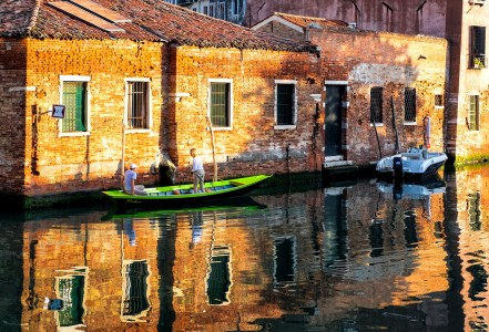 Canal Boating Jigsaw Puzzle