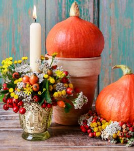 Candle and Pumpkins Jigsaw Puzzle