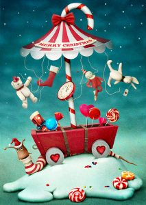Candy Carousel Jigsaw Puzzle